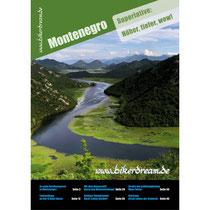 Motorrad Reisebericht über Montenegro für Motorradfahrer gedruckt erhältlich.