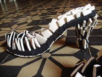 Chaussure onirique de Lysiane Bourdon