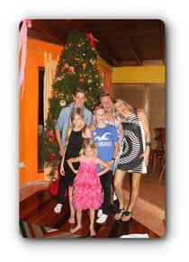 Peter con su familia!