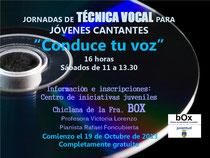 Jornadas de técnica vocal