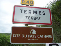 Pays Cathare, Land der Katharer, Château de Termes