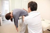腰痛 改善確認