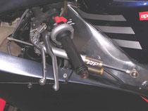 Comando gas, freno anteriore e frizione