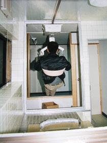 改造工事で天井が高く取れない
