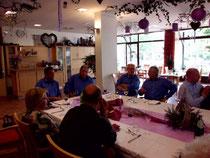 der Stammtisch zu Gast im Heuserhof Foto:privat