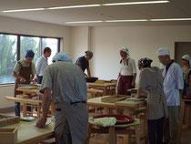 共同製麺そば道場にて