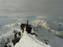 Gipfel Dom 4545m