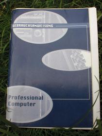 Computer-Gebrauchsanweisung