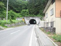 朝日鉱泉までのアクセス。太郎トンネル
