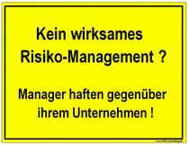 Risiko-Consulting: Problem im Mittelstand. Trotz D&O Versicherung keine Managerhaftung !