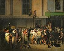 Louis Boilly Théâtre de l'Ambigu Spectacle gratuit