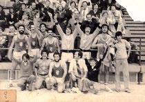 Equip sénior masculí 77-78 que va aconseguir l'ascens a 2a Nacional