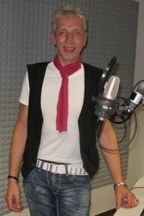 (Peer im Studio von radio leinehertz 106.5)