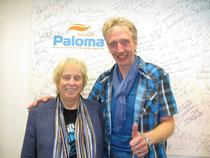 (Ekki Göpelt und Peer Wagener bei Radio Paloma)
