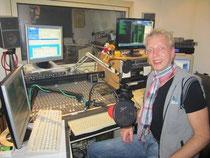 Peer Wagener in seinem Studio