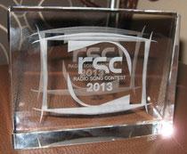Siegertrophäe für den RSC2013