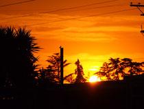 (Sonnenuntergang in California / USA)