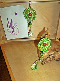 Green Lime Red Green drops and Pearls  - 12,00 Euro
