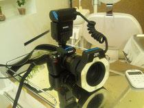 口腔内写真用カメラ