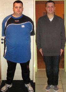 vorher 164 kg/heute 111 kg