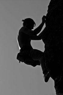 Flow beim Klettern