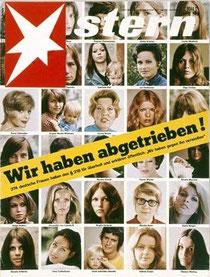 Kampagne für die Legalisierung des Schwangerschaftsabbruchs (70er-Jahre des 20. Jh)