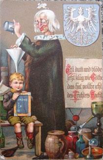 altes Gedächtnismodell: Nürnberger Trichter