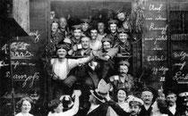 Kriegseuphorie am Beginn des Ersten Weltkrieg (1914)