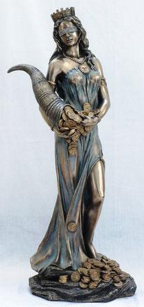 Die Glücksgöttin Tyche (Fortuna)