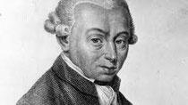 Immanuel Kant (1724 bis 1804)