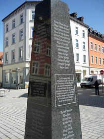Gedenkstein für die aus Konstanz deportierten Juden während des NS