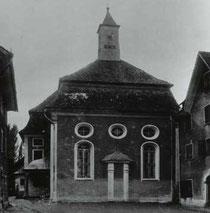 Synagoge Hohenems; heute: Salomon-Sulzer-Saal