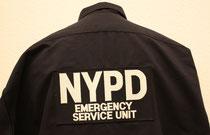 NYPD ESU Rücken