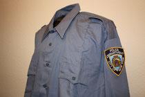 NYPD Hemd hellblau