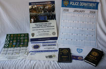 Kalender Büro US Polizei