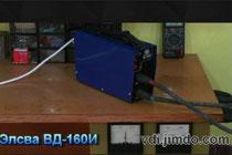Тест инвертора Элсва ВД-160И