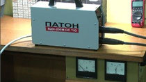 Тест электродами инвертора Патон