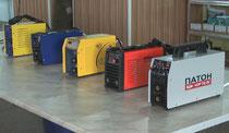 Тест на количество спаленных электродов 160А