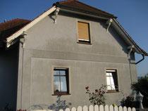 WDVS-Fassade vorher