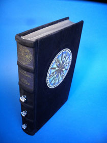 handbound book leather book fine binding lord of the rings