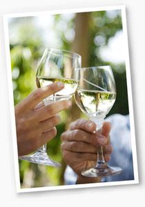 Weingut Trautwein: Weißwein ist nicht nur im Sommer ein Genuss