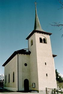 Pfarrkirche von Zeneggen