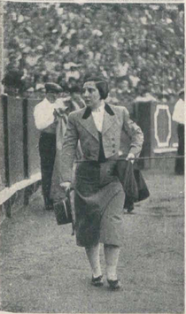 Biografía taurina de la Torera Española Juanita Cruz