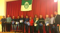 Die durch den Landessportbund 2018 Geehrten der SVA (4. von links Heiko Eßlinger)