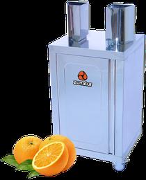 Zunatur Orangenpresse Podium orangejuice
