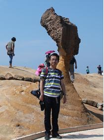 台湾野柳ジオパーク(2013.6)