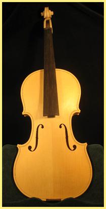 violon blanc