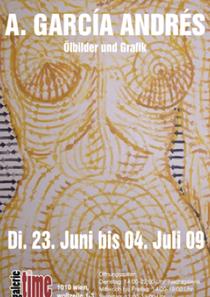galerie time Ausstellung A. Garciá Andrés Ölbilder und Grafik