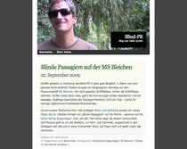 Screenshot von www.blindpr.wordpress.com