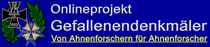 Onlineprojekt Gefallenendenkmäler